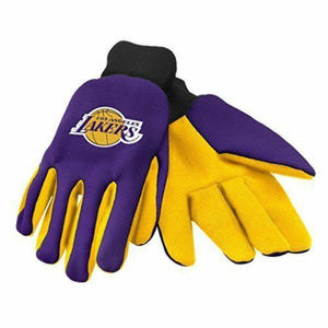 Other - Los Angeles Lakers NBA Utility 2 Tone Gloves Work